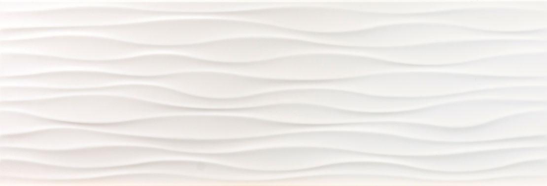 Cool White Ondas 25x73