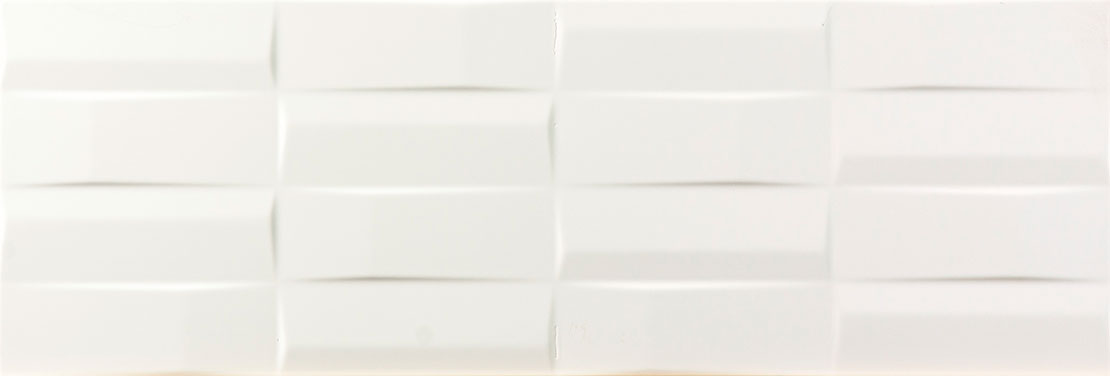 Cool White Rectangulos