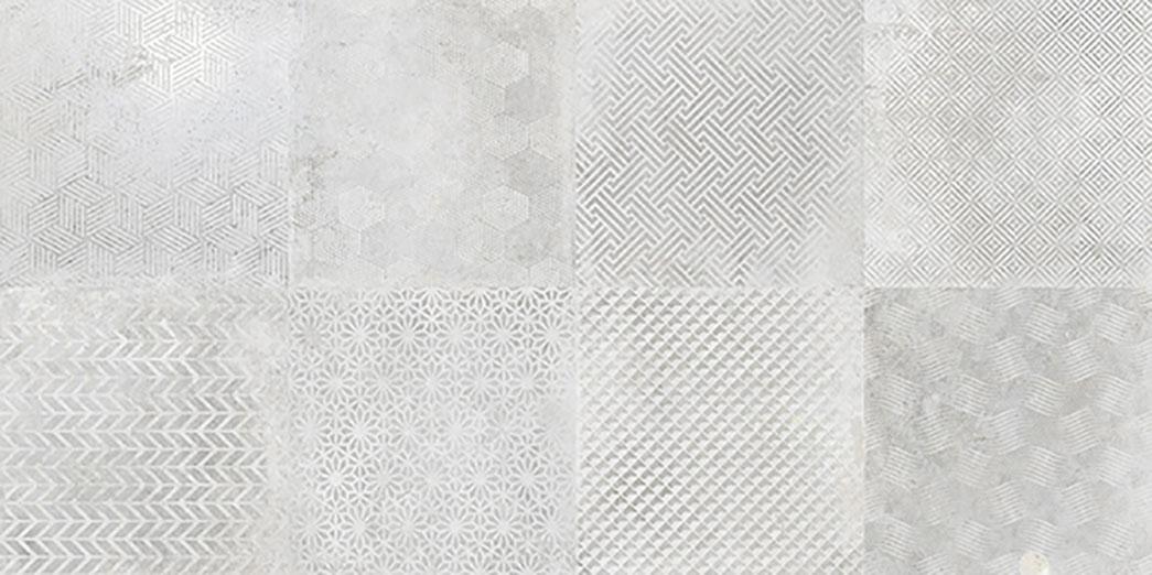 Deco Titan Silver 31,6x63,7