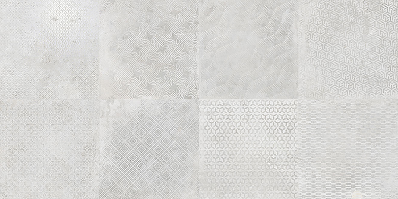Deco Titan Silver 49.1x98.2