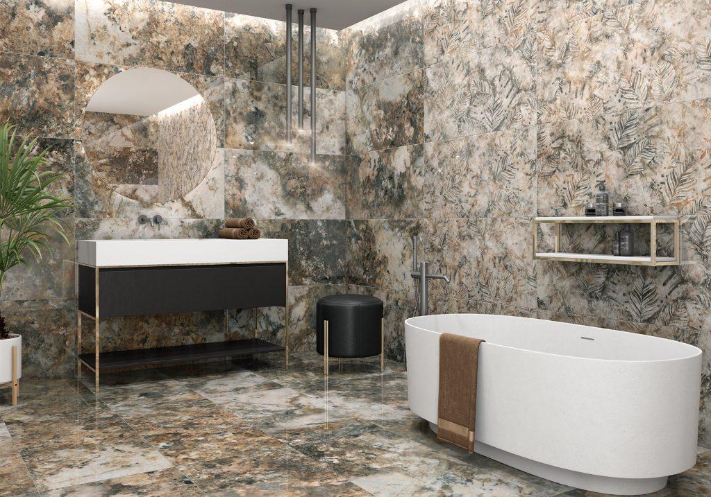 brazilsky mramor, hnedy mramor luxusna dlažba obklad ceracasa španielsko